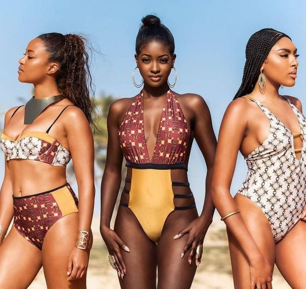 ankara swim wear