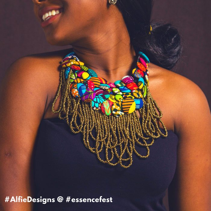 alfie design african necklace