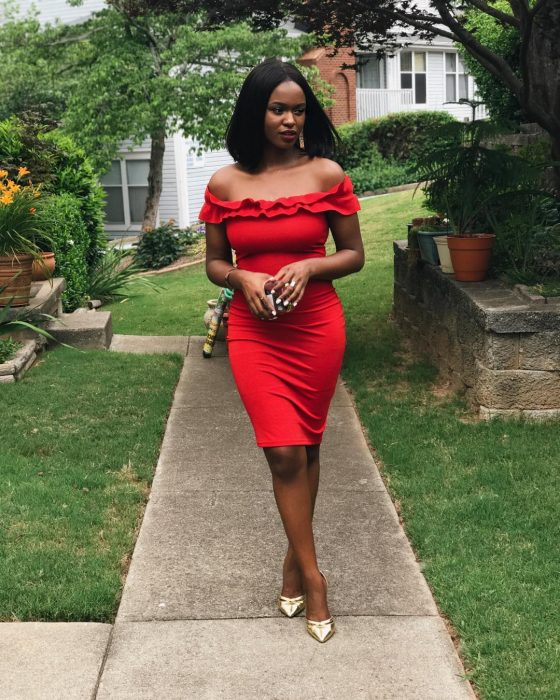 red dress kiitana red outfit